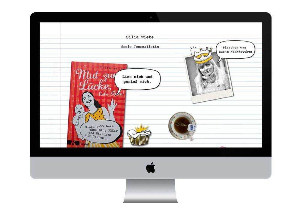 Silia Wiebe Webseite